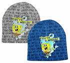 Boys Official Spongebob Squarepants Your a Winner Beanie Knit Hat 3 to 12 Years
