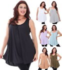 LotusTraders CAMI TANK TOP STRETCH JERSEY CHIC MADE TO ORDER MISSES PLUS P742