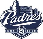 San Diego Padres #7 MLB Team Logo Vinyl Decal Sticker Car Window Wall Cornhole on Ebay