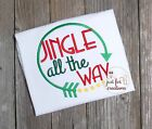 Girl  Infant Toddler Christmas Jingle All The Way Arrow LS Holiday Shirt
