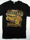 Genuine Junkyard Salvage Hot Rod vintage tee shirt men's black Choose A Size