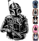 Funny T-Shirts Star wars Punk Boba fett Men's ladies Singlets Bounty Hunter new $22.49 AUD