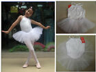 Baby Child Girls Ballet Skirt Tutu Leotard Dance Dress Costume Dress 5colors NWT