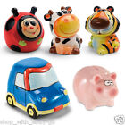 Ceramic Piggy Bank Money Box Saving Coins Cash Gift Novelty Pig Safe Car Tiger