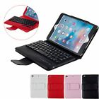 Removable Bluetooth Keyboard Slim Leather Stand Cover Case for iPad Mini 2 3 4