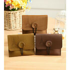 2PCS Vintage Retro Key Credit Card Coin Bag Purse Pouch Case Holder Wallet Gift