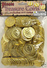 Bag of Gold Coins 144 Pieces Pirate Treasure Pirate Booty Dabloons 67746