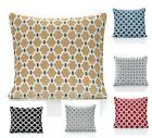 "Set Of 4 Berkeley Chenille Cushion Covers 6 Fab Colours 18"" & 22"""