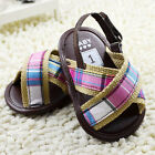 Toddler Baby boys girls sandals crib shoes size 0-6 6-12 12-18 months