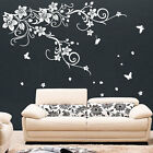 Grande Vite fiore farfalla wall stickers / Da parete, decalcomania
