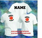 Basketball (Pick Family Member) & Personalize T-Shirt All Adult Sizes XS - 6XL
