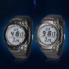 Vogue Men LED Digital Stopwatch Date Waterproof Rubber Quartz Sports Wrist Watch