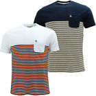 Original Penguin Stripe T Shirt - Top Pocket - S M L XL XXL