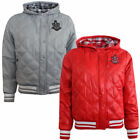 Nike Ad Varsity Womens Girls Quilted Hooded Bomber Jacket 418562 RS