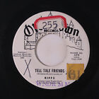 RIFFS: Tell Tale Friends / Why Are The Nights So Cold! 45 (dj, rubber stamps ol