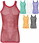 Kyпить FITTED 100% Cotton String Vest Mesh Muscle Fishnet Tank Top  на еВаy.соm
