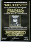 1977 The Bee Gees Night Fever Saturday Night Fever song release music trade ad