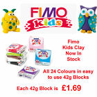 FIMO Kids Form & Play 42g Block Oven Bake Polymer Clay 24 Colours For Modelling