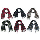 Ingles Buchanan 100% Wool Plaid Scarves - Made In Scotland - 12 Tartan Choice