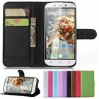 New PU Leather Flip Wallet Built-in Case Cover For Doogee NOVA Y100X Smartphone