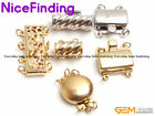 Yellow White 14K Gold Plated Toggle Clasps Jewelry Making Design Findings 1 Set