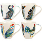 Churchill Paradise China Mug Mugs Puffin Penguin Owl Rooster Couture Gift