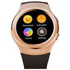 NO.1 G3 Bluetooth Smartwatch Full Circular Dial Stainless Steel For Android IOS