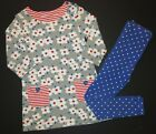 Mini Boden girls spring pansy print tunic top shirt dress spot leggings 11-12 Y