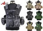 Tactical 1000D Molle Plate Carrier Combat Vest US Navy Seals Military Hunting