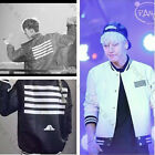 Kpop Bigbang G-Dragon Coat Made The Full TWO-SIDE Jacket Baseball Uniform VIP