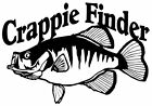 Crappie Finder Decal MD Boat/Truck Window Stickers