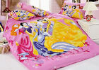2016 New Disney Five Princess Bedding Set 4pc Bed Queen King Size RARE