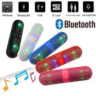 LED Colorful Light Wireless Bluetooth Speaker Super Bass Portable Stereo FM TF