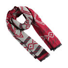 Unisex Rectangle Shape Winter Warm Long Knitted Scarf