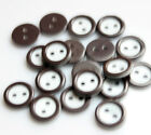 Wholesale 18 colors 50pcs 11mm DIY Kids T-shirt candy colored buttons 2 hole