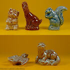 Wade Whimsies Figurines (1983/85 Set #1) USA Red Rose Tea Animals - Selection B