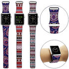 For Apple Watch Genuine Leather Watch Strap Loop Type Tribu Watch Band 42mm/38mm