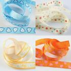 "1 roll 5/8""  printed one-side design Grosgrain Ribbon 20Yards for Multi-styles"