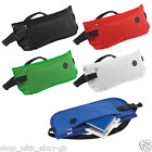 4x DISCREET MONEY TRAVEL WAIST BELT ZIPPED PASSPORT WALLET SECURITY POUCH BUMBAG