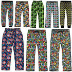 Mens Character Lounge Pants Trousers Bottoms Pj Pyjamas Nightwear Cartoon Marvel