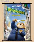 Anime Movie Zootopia Home Decor Wall Scroll Poster 40*55CM & 60*80CM Z219