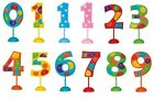 Large FLASHING Polka Dot Plastic Number Decoration (Unique) (Birthday/Cake)