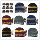 HARRY POTTER Gryffindor Thicken Wool Knit Cap Hat Winter Warm Cosplay Hats S