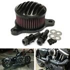 Black Aluminum Air Intake Filter Cleaner For Harley Sportster XL883 XL1200 04-16