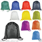 School Drawstring Book Bag Sport Gym Swim PE Dance Shoe Backpack Premium Quality