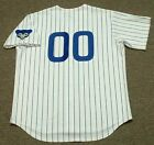 """CHICAGO CUBS 1960's Majestic Cooperstown Home """"Customized"""" Baseball Jersey"""