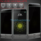 Premium Anti-Spy Privacy Tempered Glass Screen Protector for LG G5/G Stylo LS770