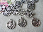 20 x Thistle,Scotland Emblem, Tibetan Silver Metal Pendant Charms,Scottish