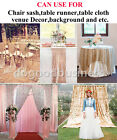 Sparkly Sequin Fabric Photography Backdrop Curtain Wedding Table Cover 1.5m Wide
