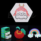 1pc Clear ABC Pegboard for DIY Hama Fuse Beads Accessories Pattern Kid Craft